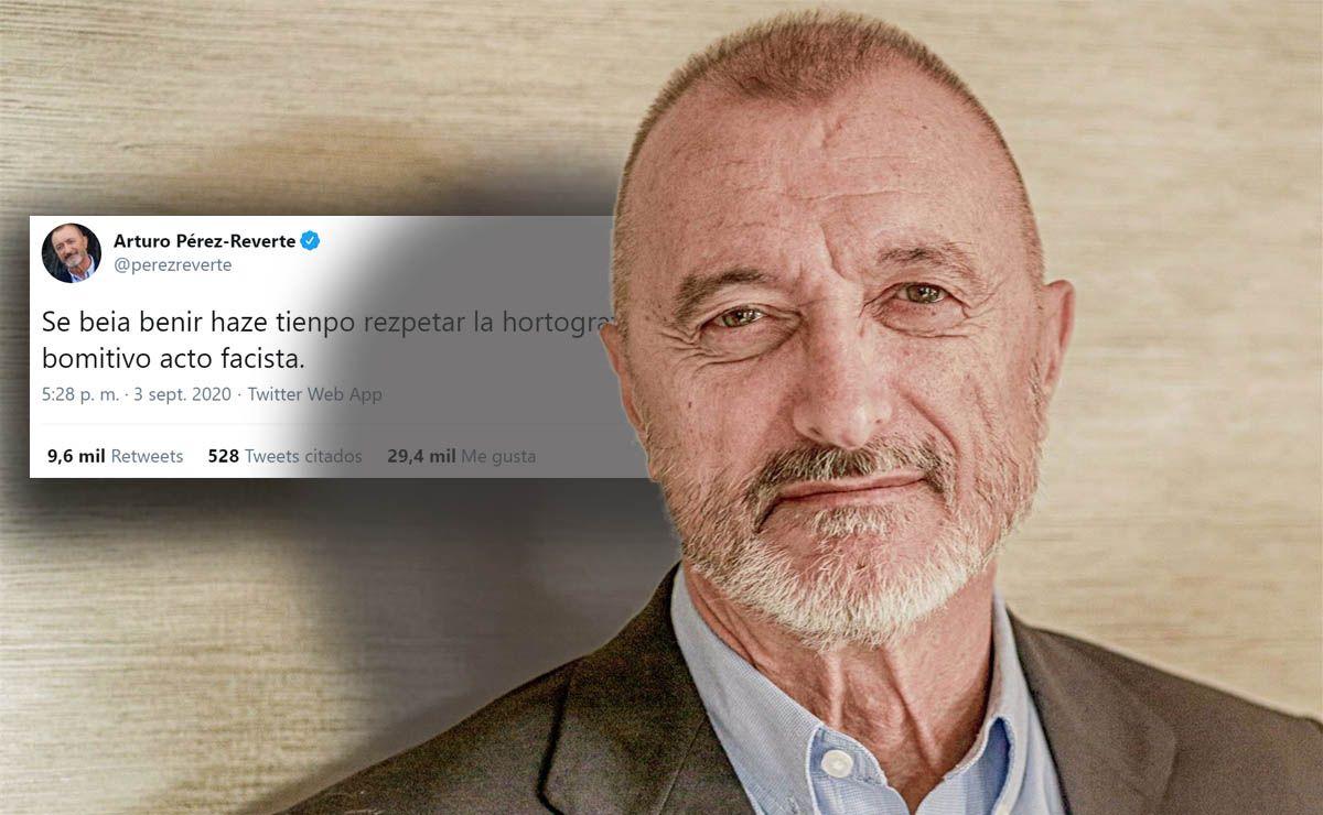 Arturo Pérez-Reverte Tweet Ortografía lucha de clases
