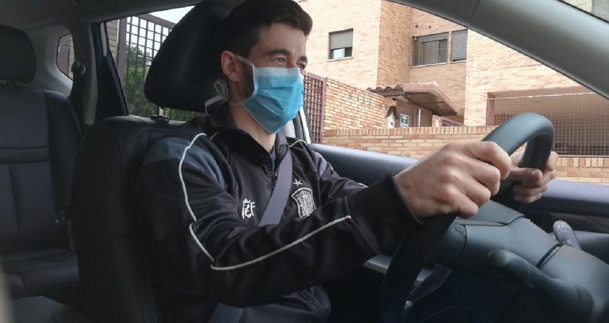multas mascarillas coches