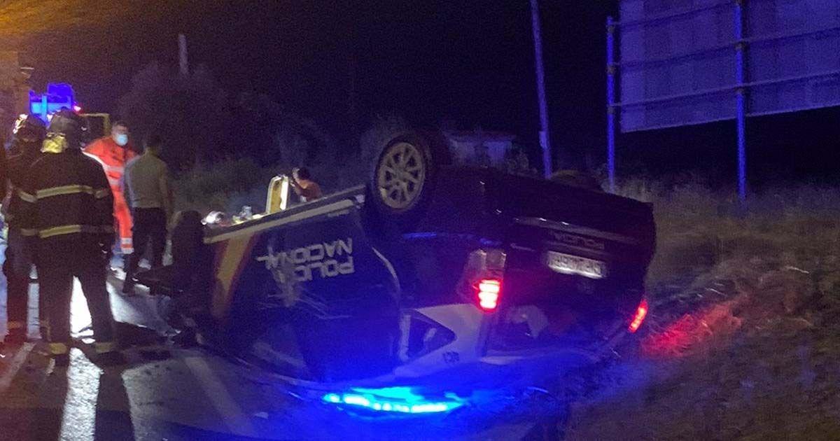 Policía Nacional algeciras accidente