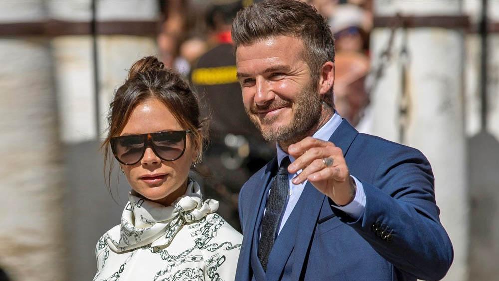 David y Victoria Beckham coronavirus covid