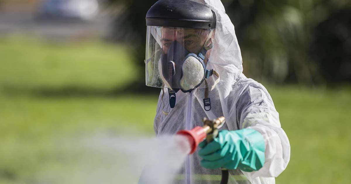 fumigador por la fiebre del Nilo virus del nilo