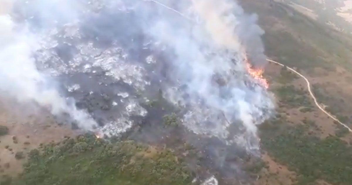 Incendio Cortijo de la Joya