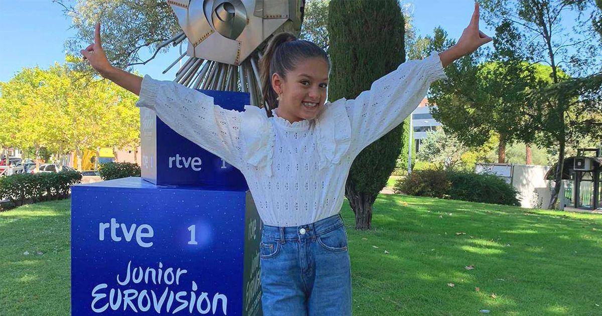 Soleá, una sevillana de 9 años, representará a España en Eurovisión Junior 2020