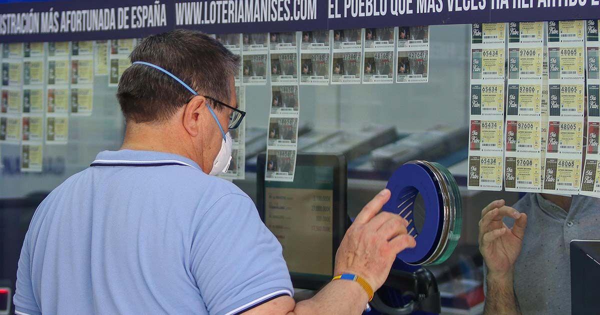 La lotería deja en Cádiz y Sevilla más de 300.000 euros