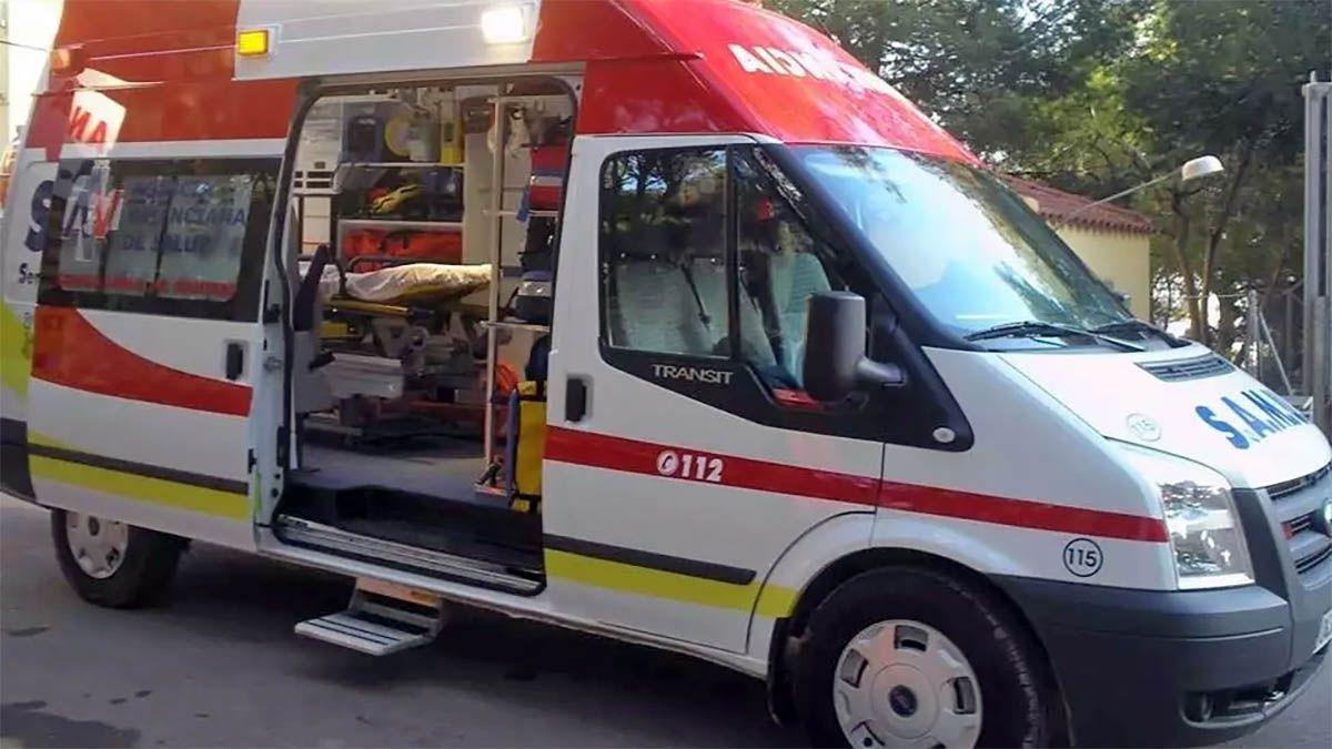 Ambulancia Comunidad Valenciana padres hijos cuchillos