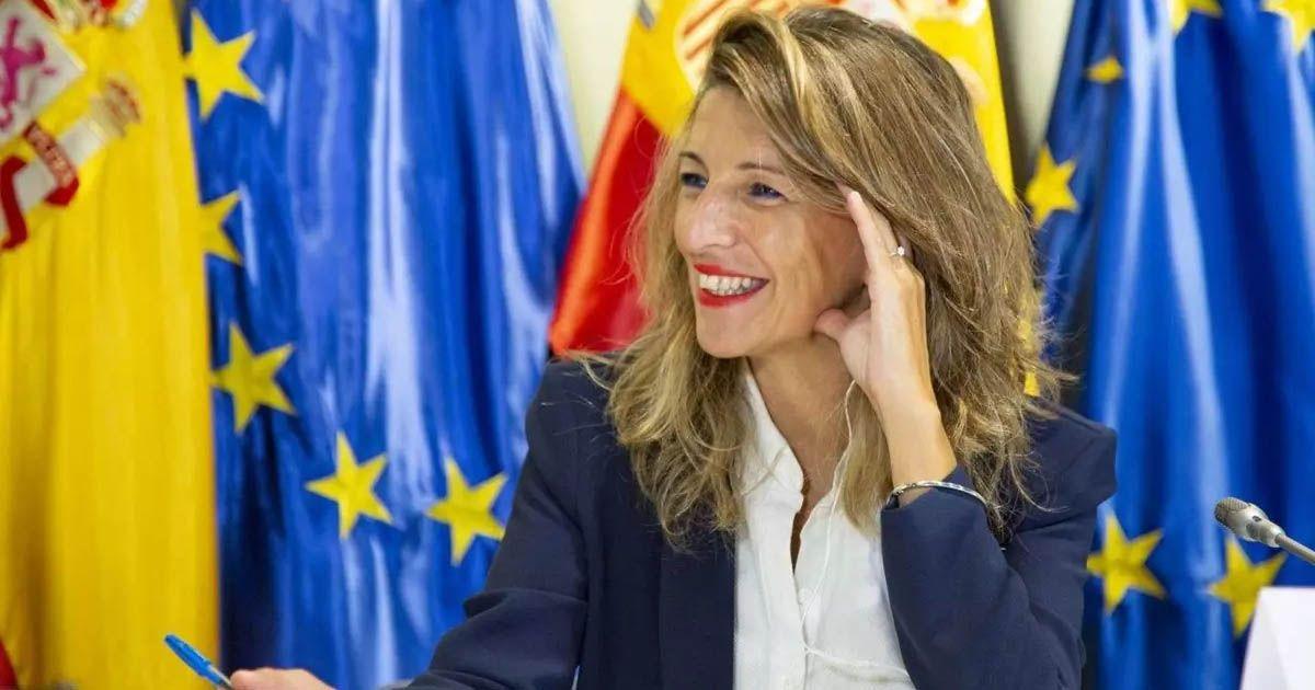 Ministra de Trabajo y Economía Social Yolanda Díaz - MINISTERIO DE TRABAJO empleo despidos despedir
