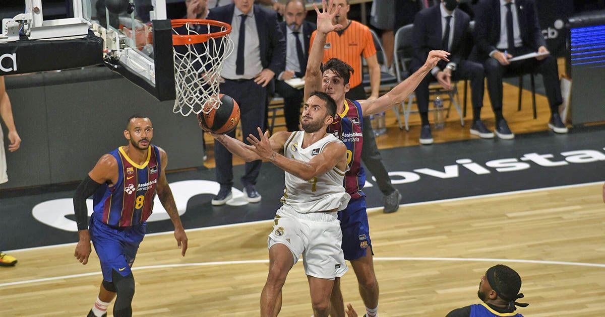 Real Madrid Barcelona Supercopa España Baloncesto