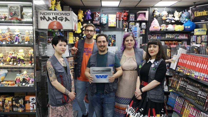 Nostromo tienda de comics sevilla