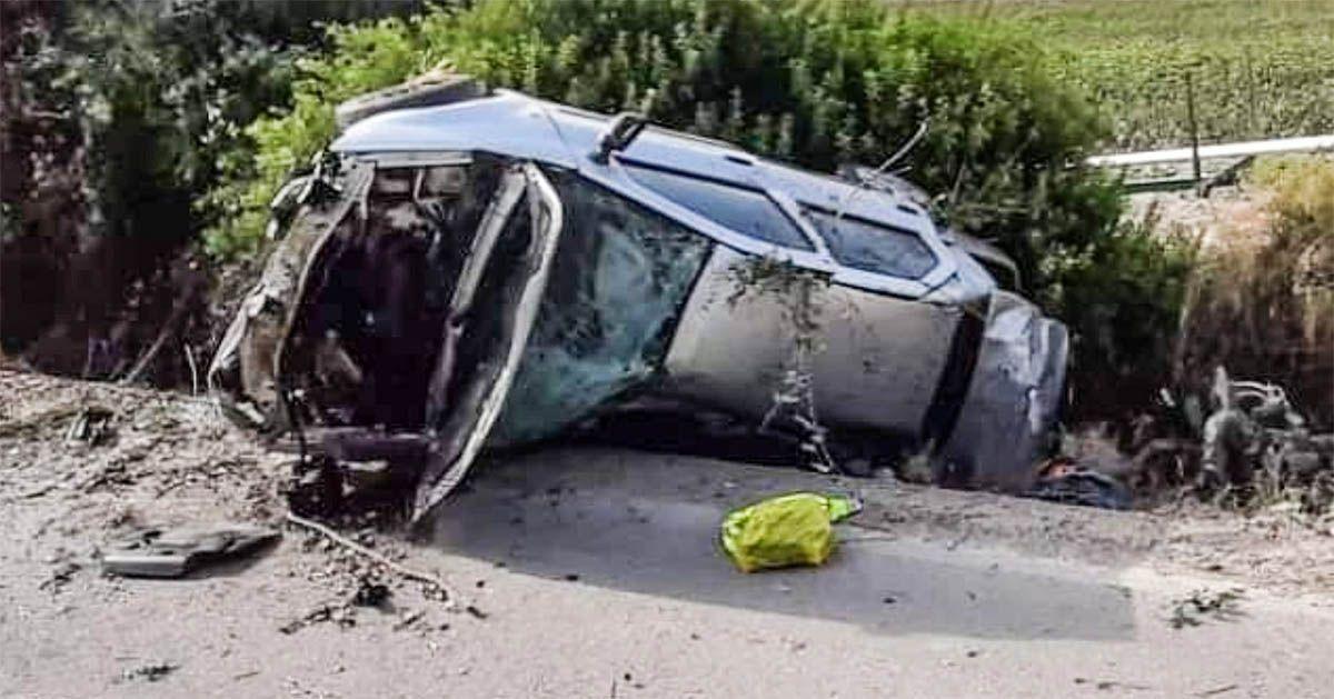 Accidente en Jerez La Barca herido