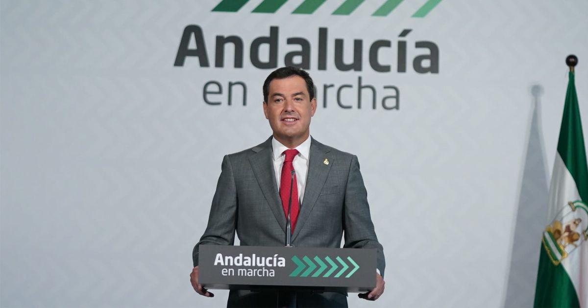 Plan Andalucía en Marcha: Moreno anuncia una dotación de 3.450 millones medida movilidad
