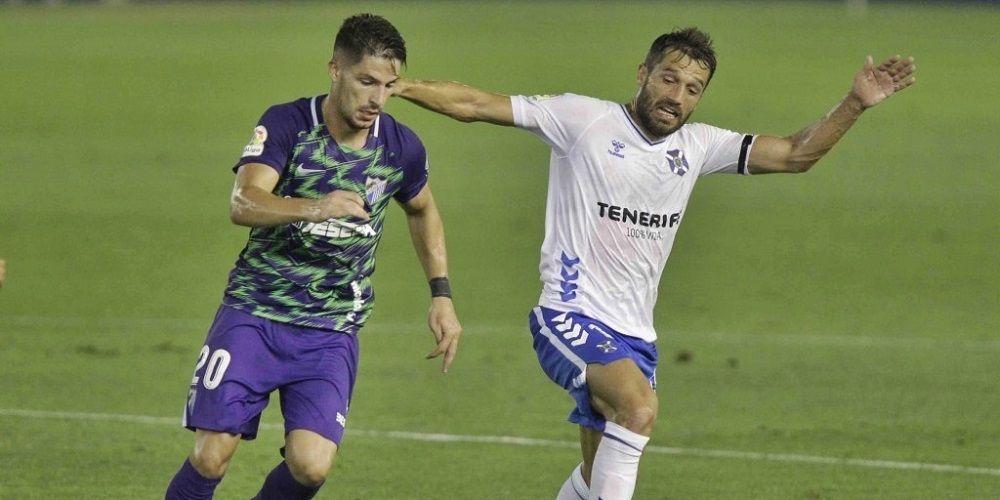El Málaga CF tropieza en el estreno liguero ante el CD Tenerife