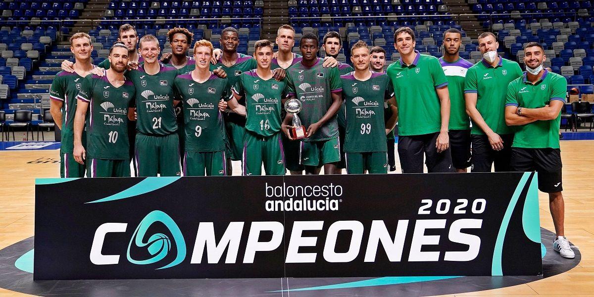 Unicaja Málaga se proclama campeón de la Copa de Andalucía