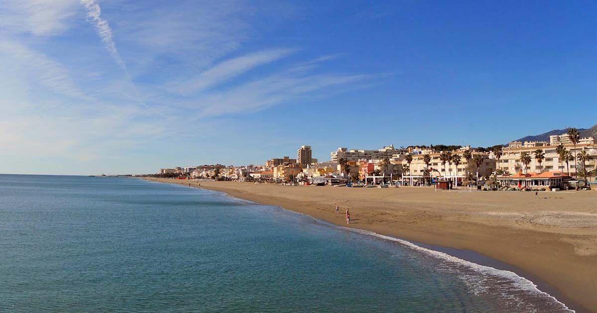 Playa la Carihuela Torremolinos Málaga