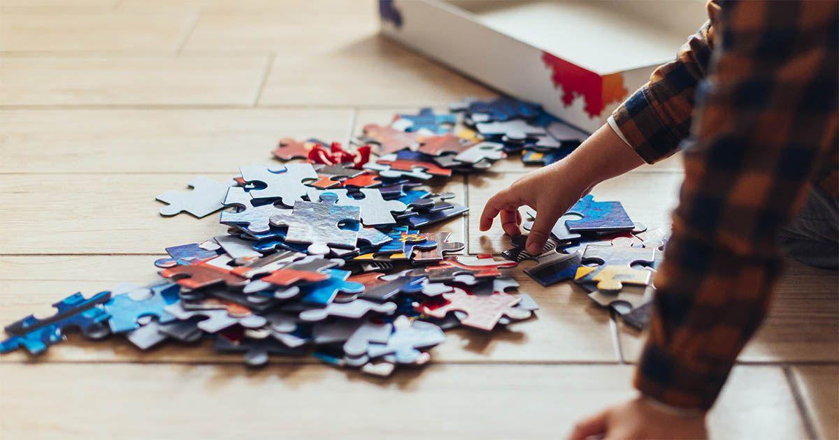 niño puzzle niños