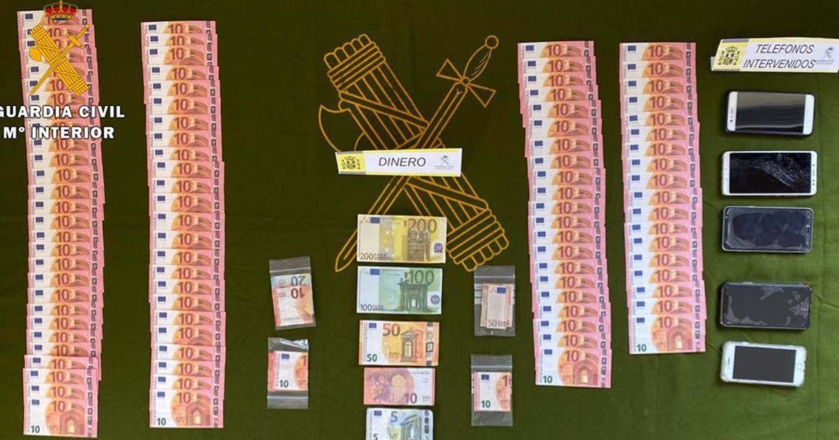 Billetes falsos distribuidos en comercios de Pozoblanco