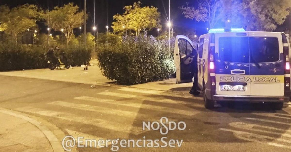 Policía local Sevilla botellón