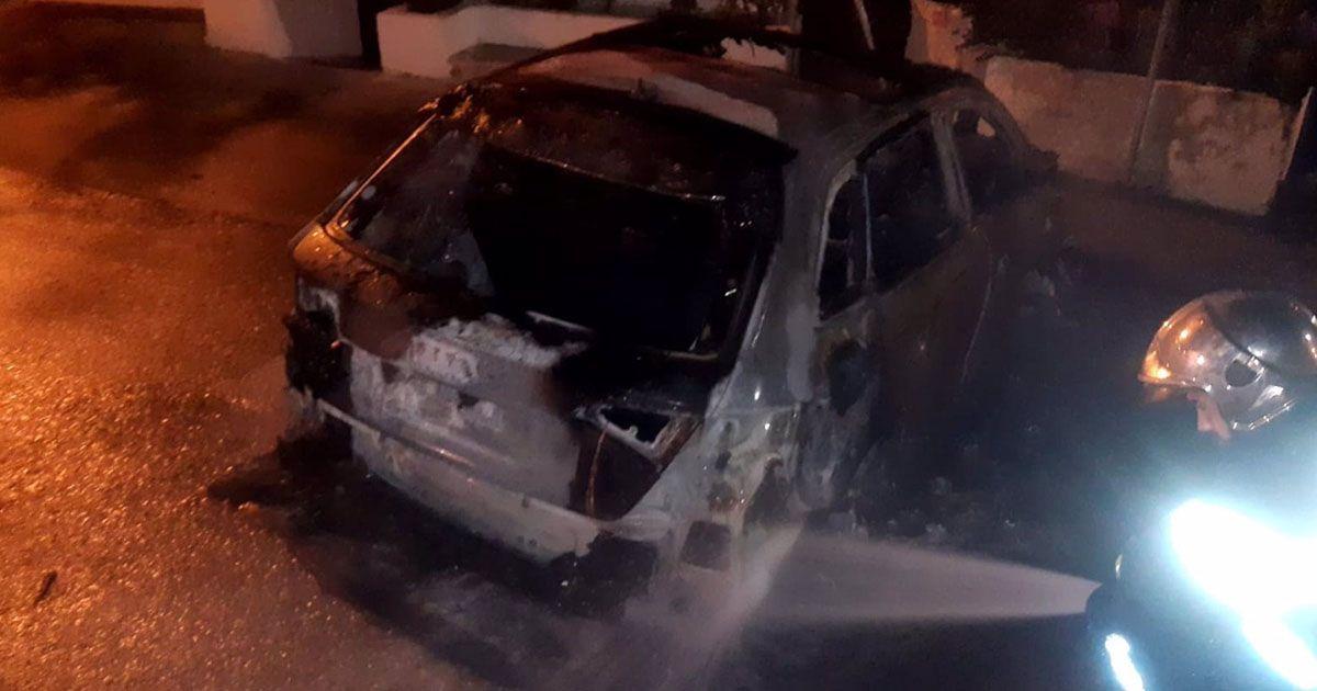 Coches quemados Bornos