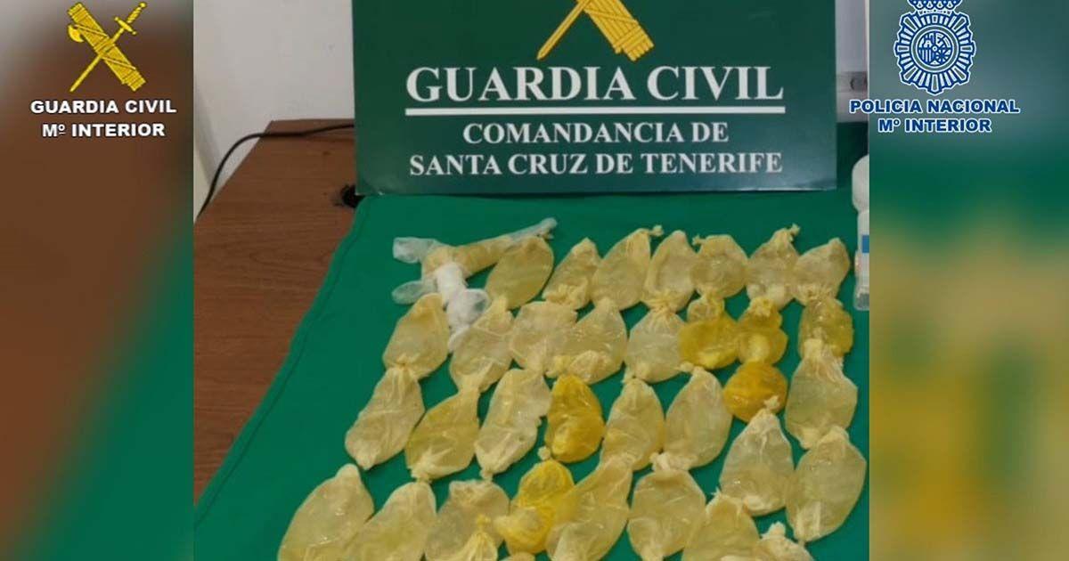 Tráfico de drogas en Canarias y Sevilla