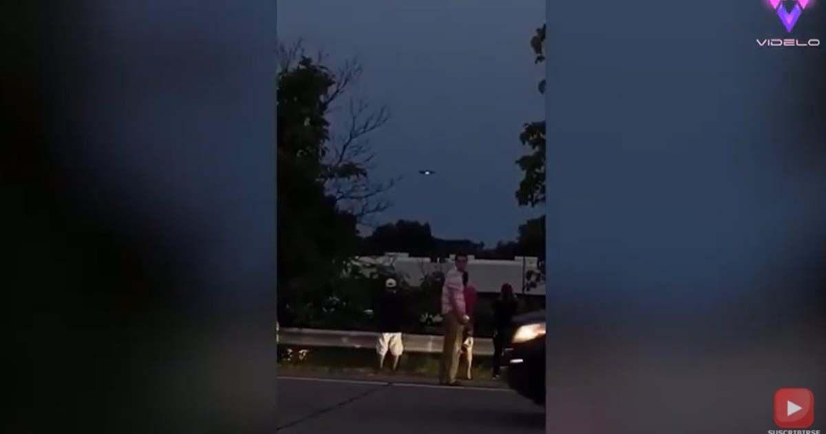 OVNI volando sobre Nueva Jersey