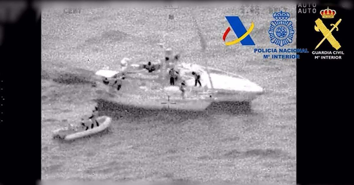 Interceptan un velero con 200 kilos de droga