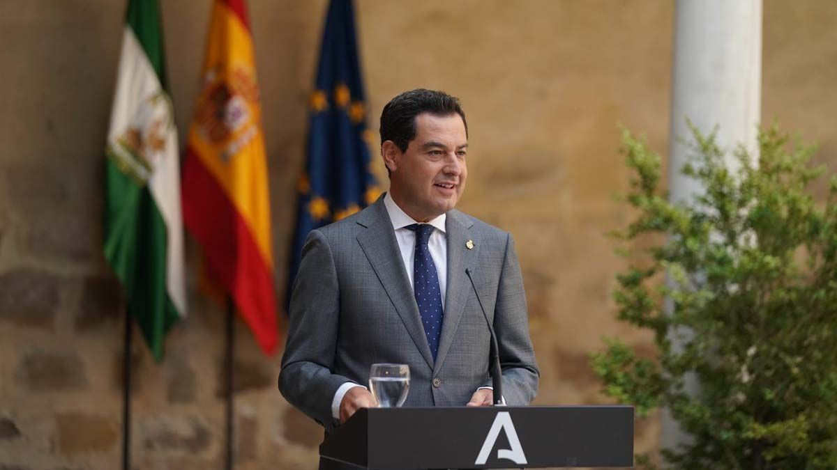 Juanma Moreno 1 Coronavirus Jaén España autonomías