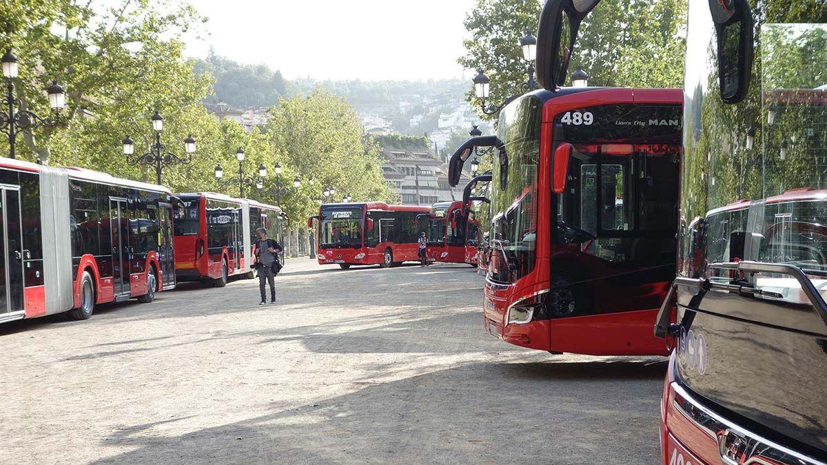 Nuevos autobuses Granada