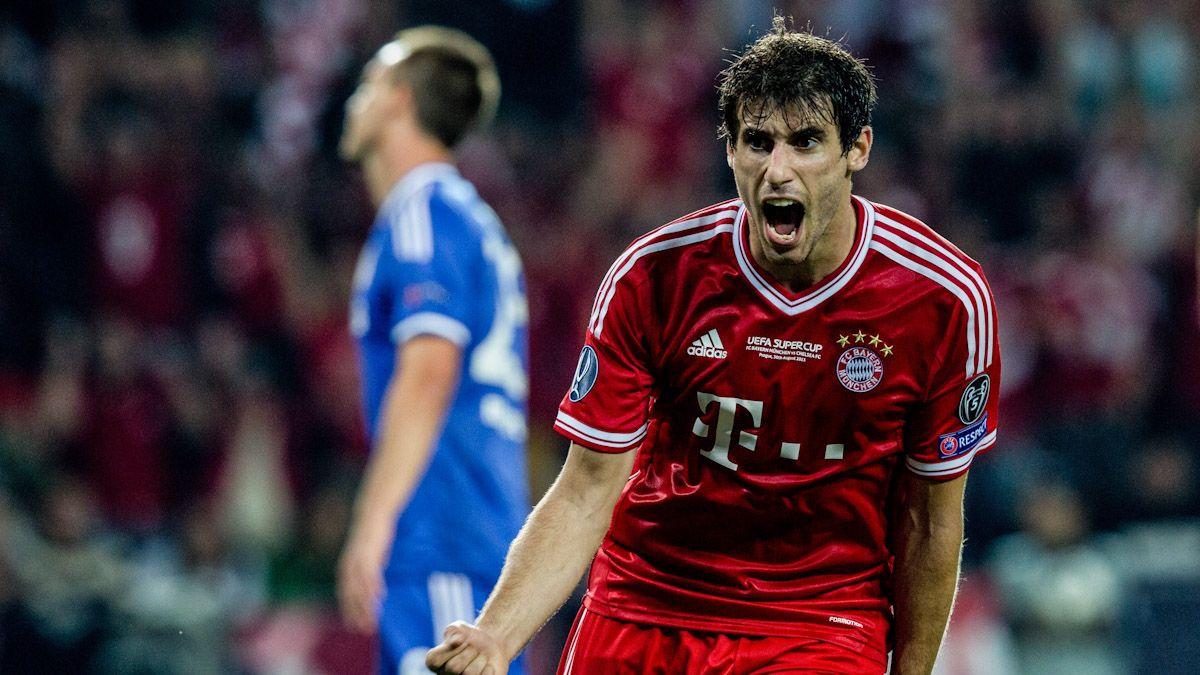 Javi Martinez Bayern Munich - Sevilla FC Supercopa de Europa