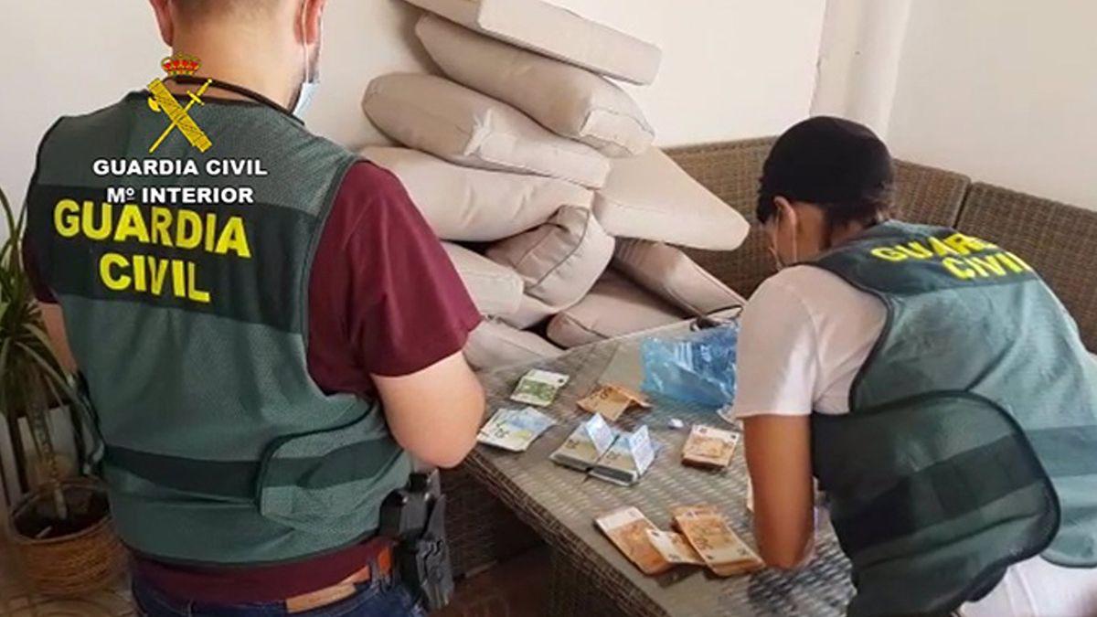 Desmantelada una organización criminal dedicada al tráfico de drogas en Almería España