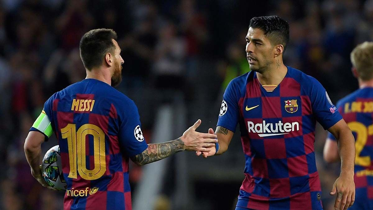 Leo Messi Luis Suarez
