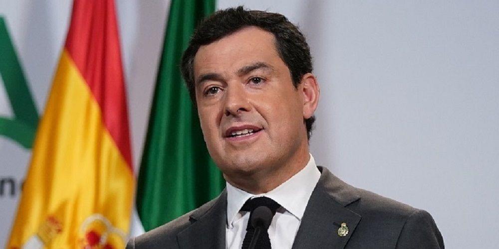 Juanma Moreno, presidente de la Junta de Andalucía, anuncia nuevas medidas