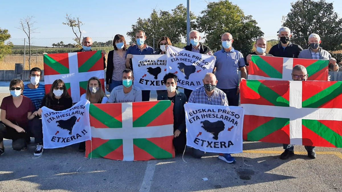 en libertad en Sevilla al preso de ETA Rufino Arriaga