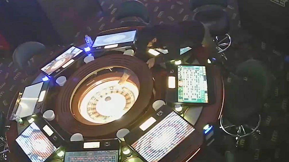 estafa de ruletas electrónicas de salones de juego