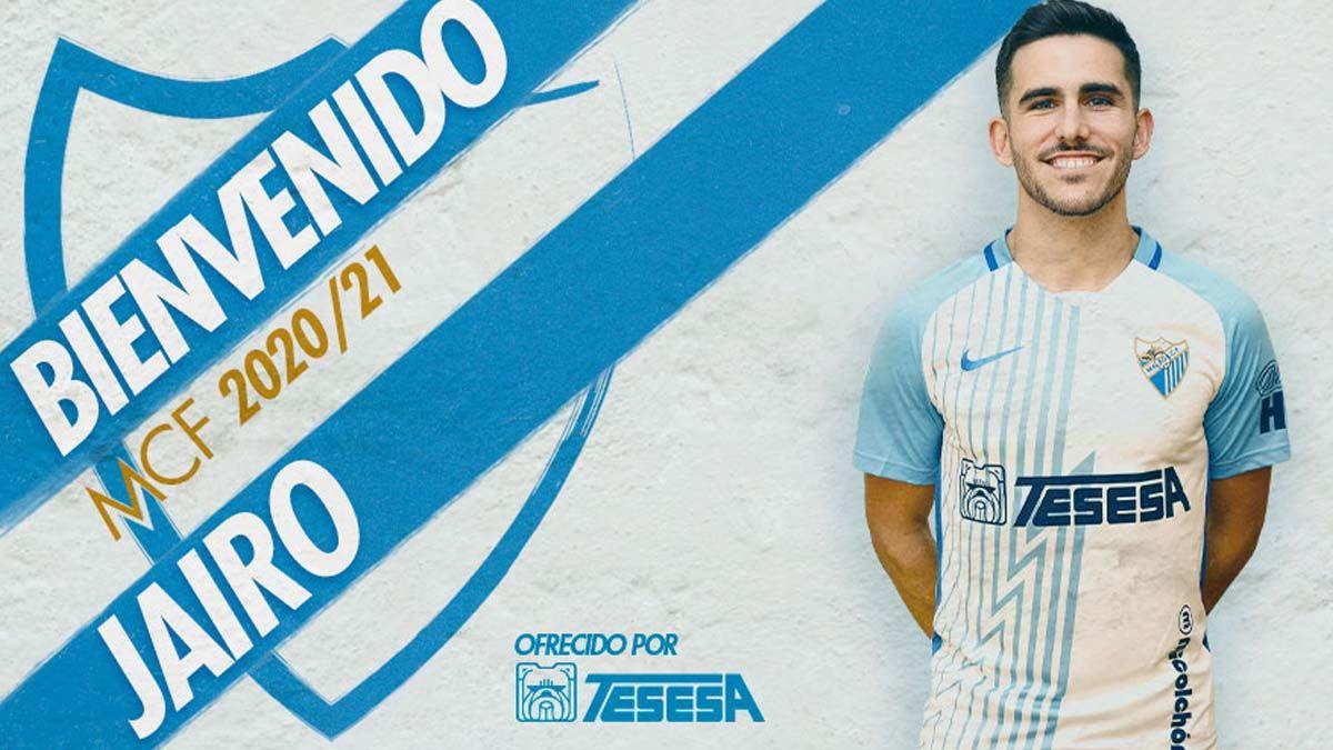 Jairo Samperio, campeón de Europa, fichaje estrella del Málaga