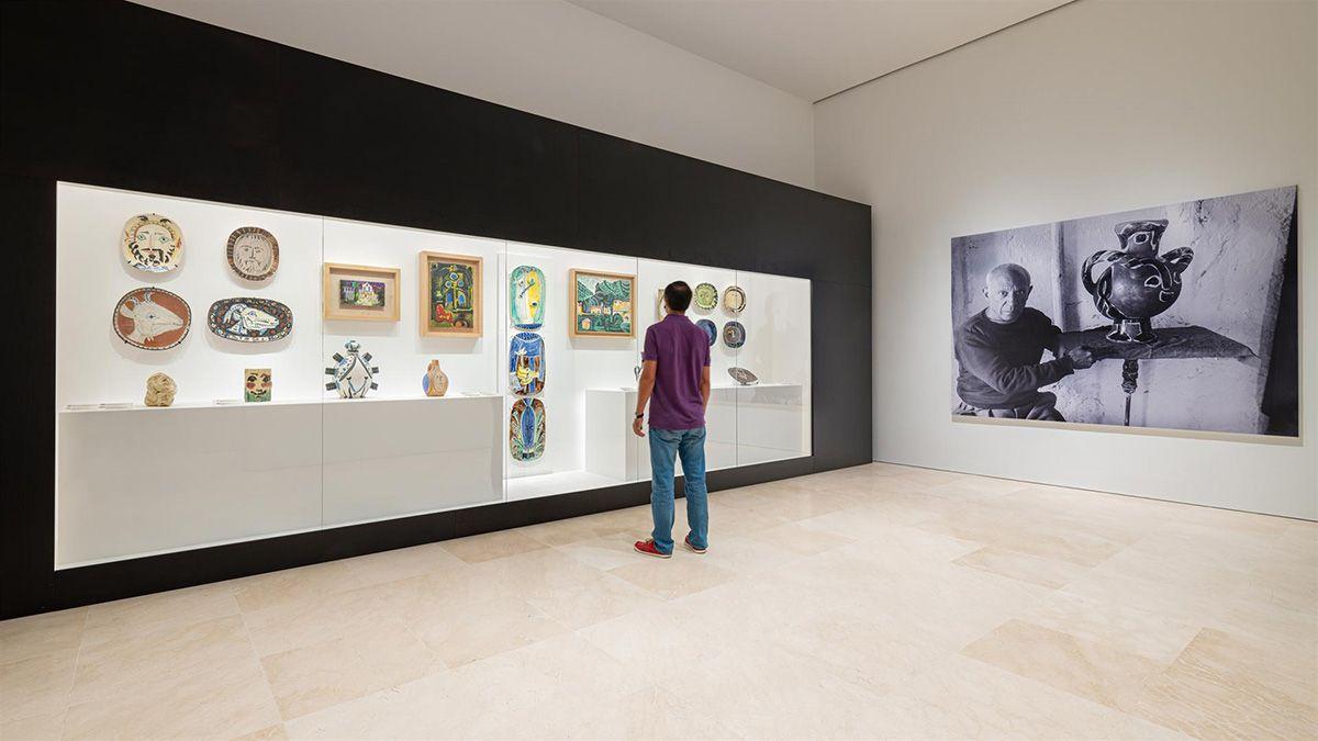 El Museo Picasso de Málaga recoge en una nueva sala la cerámica del artista