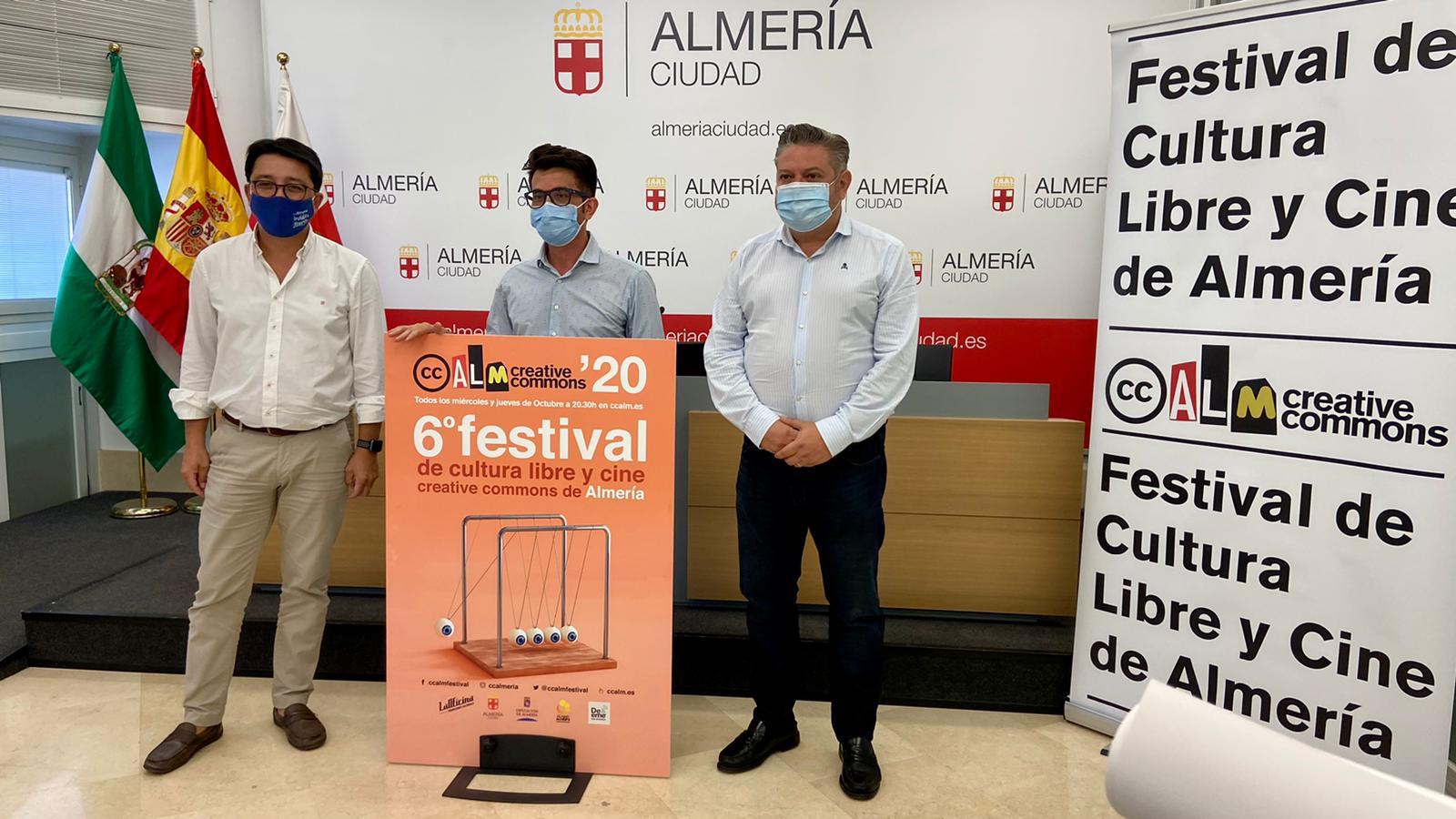 Almería Creative Commons se celebrará online todos los miércoles y jueves