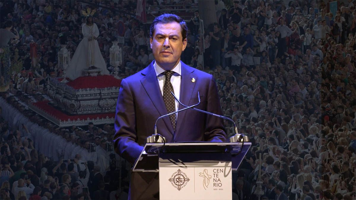 Juanma Moreno Semana Santa 2021 Andalucía