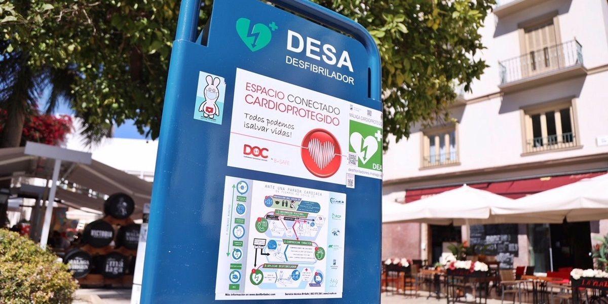 Desfibrilador Málaga