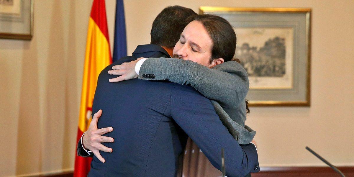 Pedro Sánchez apoya a Pablo Iglesias