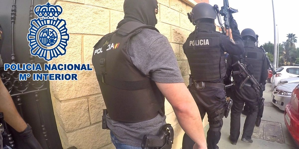 Policía Nacional operación antidroga en Los Barrios