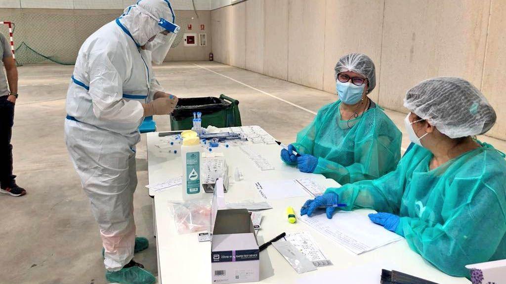 test coronavirus de antígenos en Bornos negativos falsos contagiosos