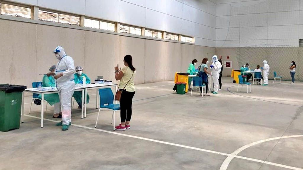 test coronavirus de antígenos en Bornos