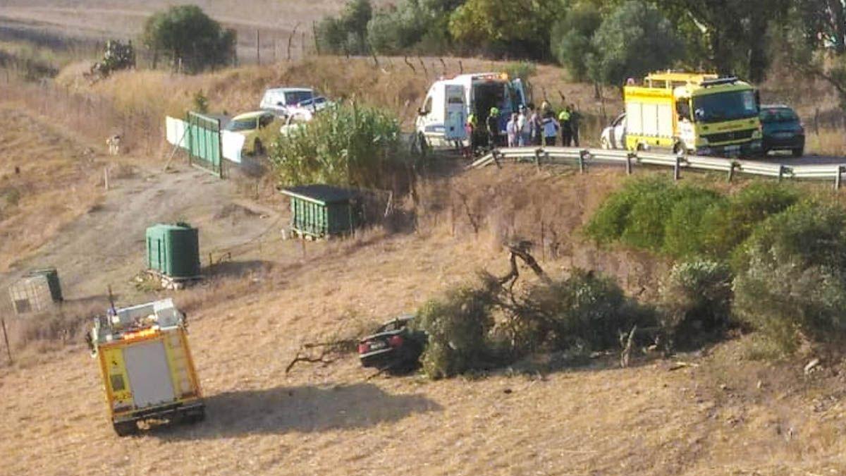 Medina Sidonia accidente
