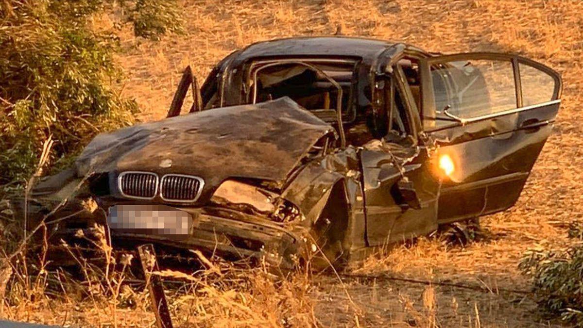 Medina Sidonia accidente BMW