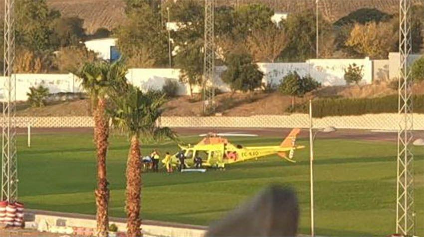 Helicóptero 061 accidente Medina Sidonia