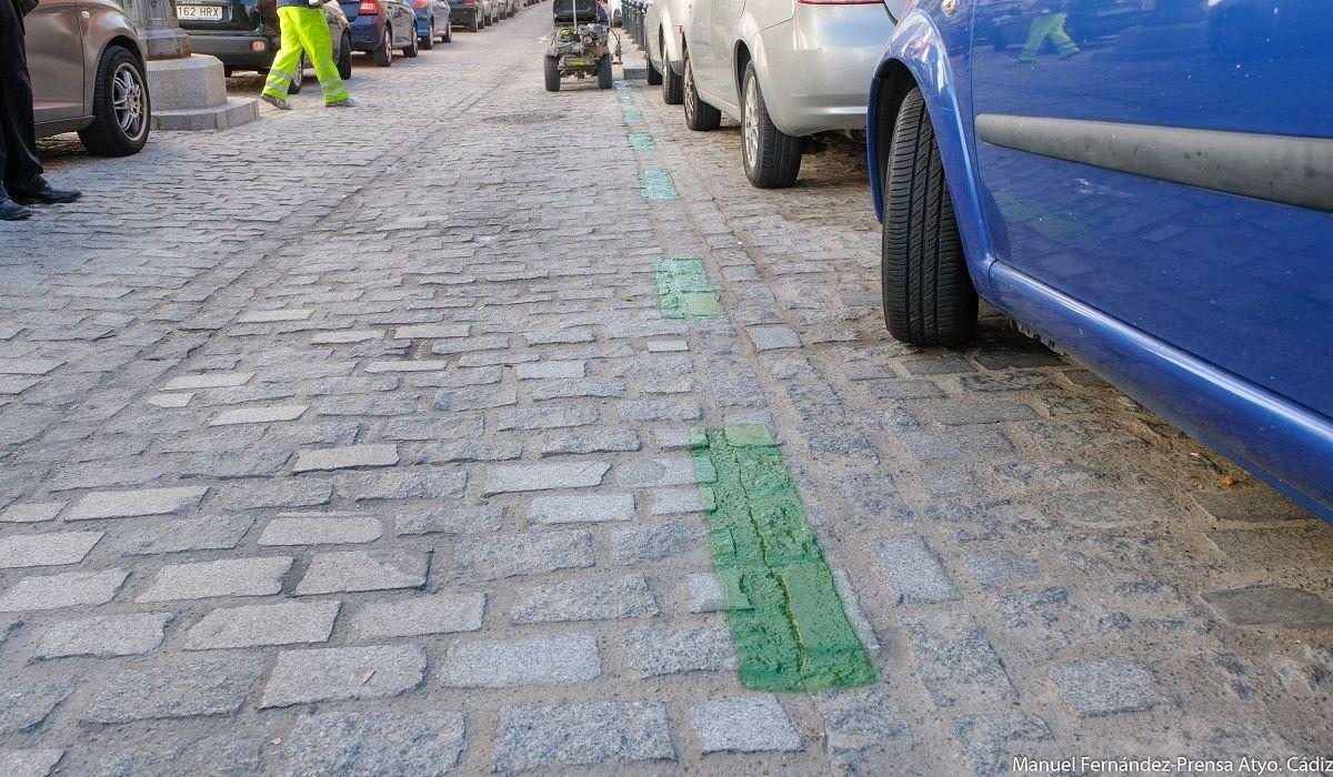 Cádiz aparcamiento zona verde multas
