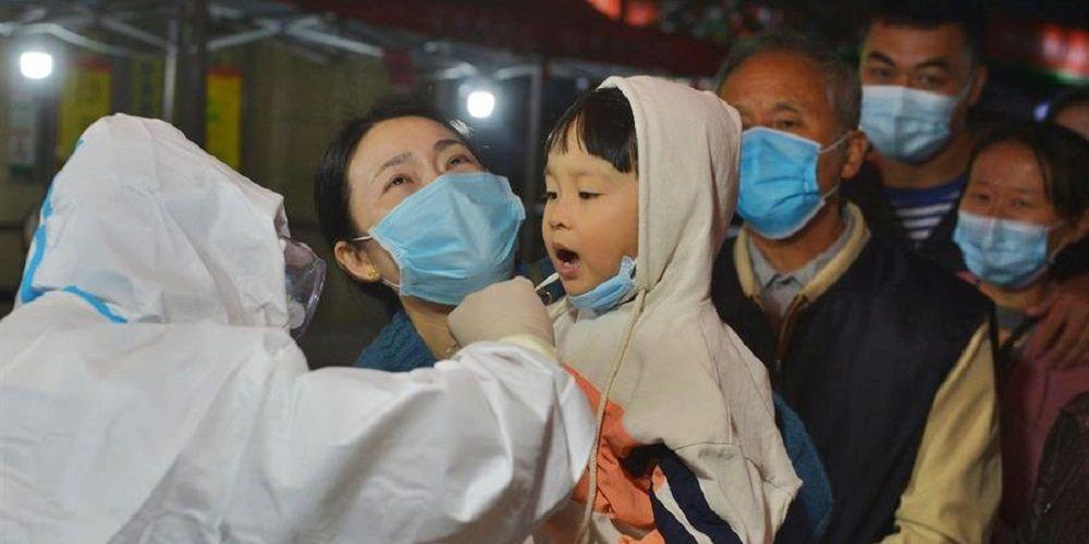 Qingdao (China) pruebas Coronavirus
