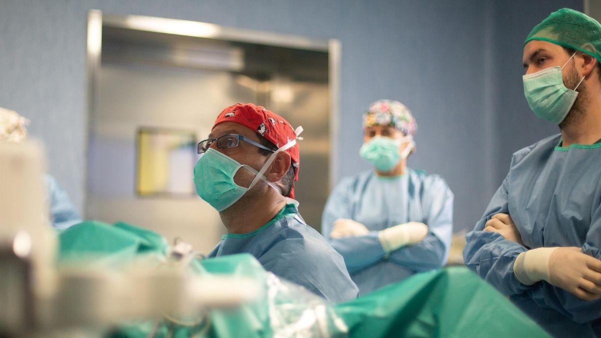 hospitalizados ingresados Coronavirus Andalucía