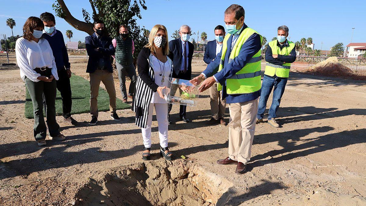 Jerez coloca la primera piedra del mayor complejo deportivo de Andalucía