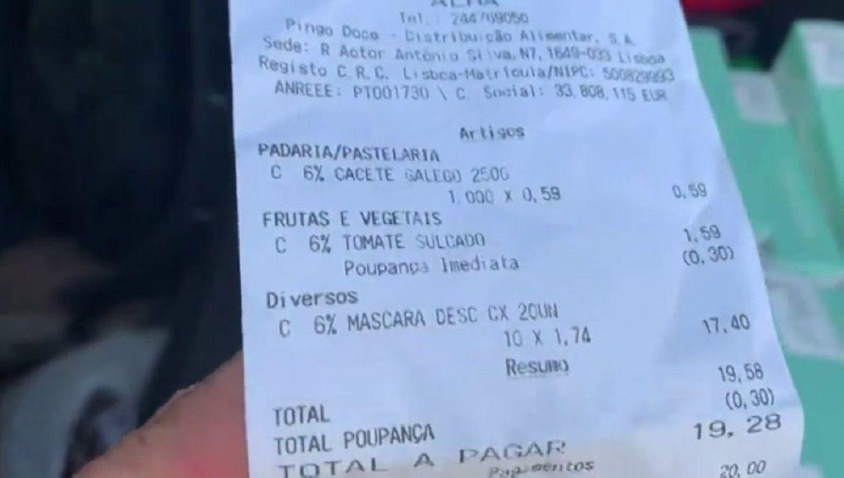 Portugal mascarilla español