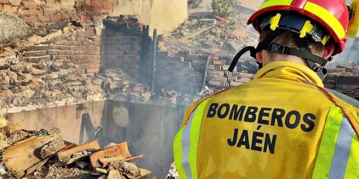 muerto en incendio de Jaén